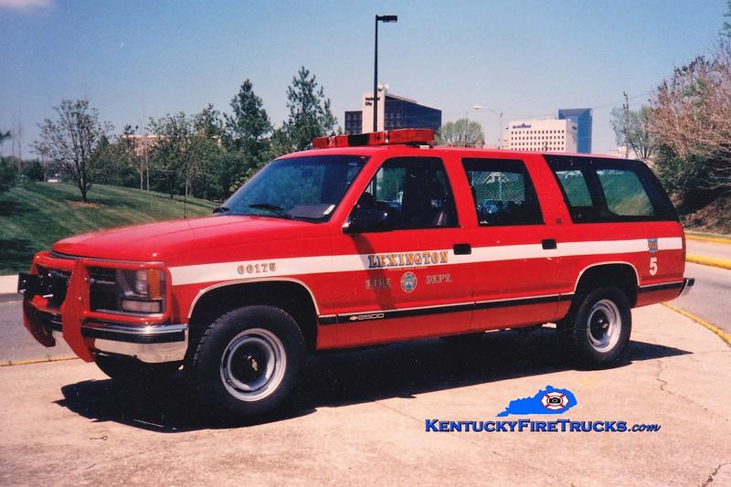 Lexington Cars 202, 204, and 205<br /> 1993-1994 Chevy Suburban 4x4<br /> Greg Stapleton photo