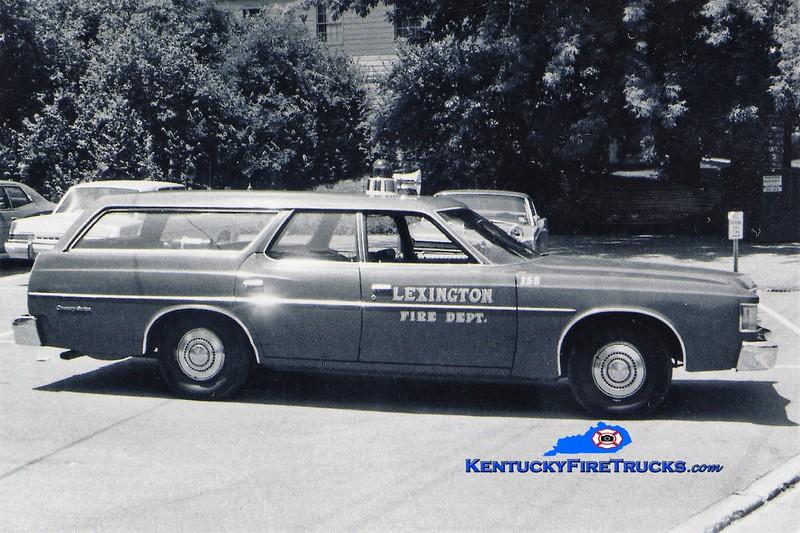 Lexington Car 204 <br /> 1973 Ford <br /> Greg Stapleton collection