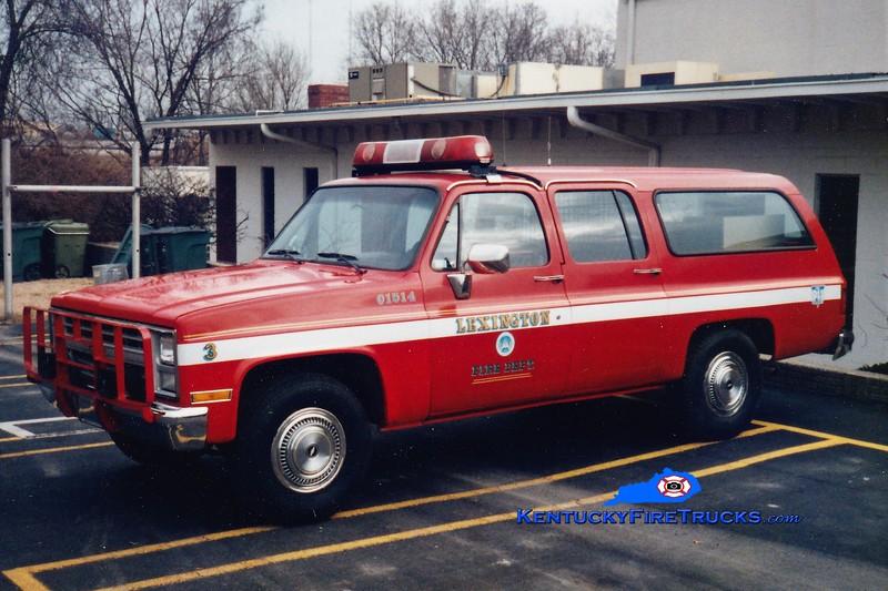 Lexington Cars 201 and 203<br /> 1985 Chevy Suburban 4x4<br /> Greg Stapleton photo