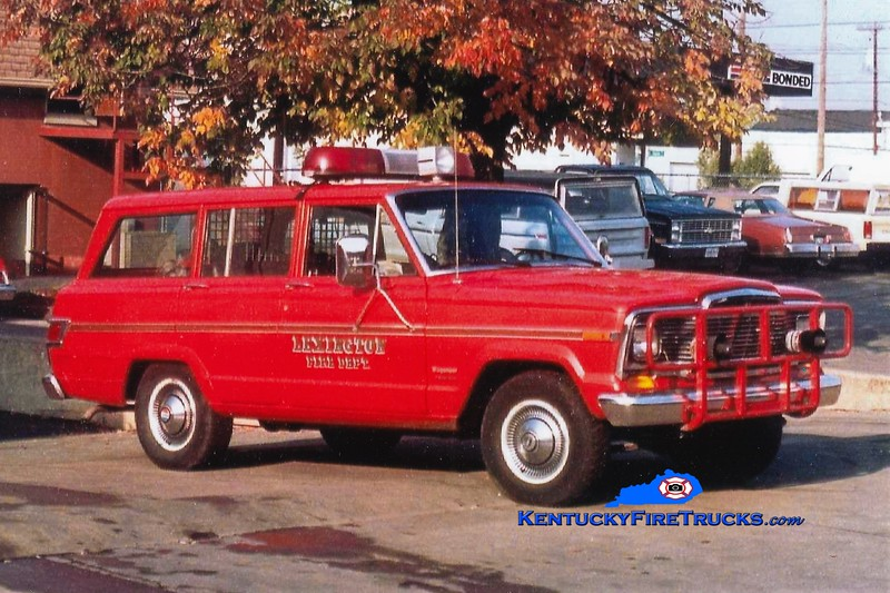 Lexington Cars 201 and 203<br /> 1981 Jeep<br /> Greg Stapleton collection