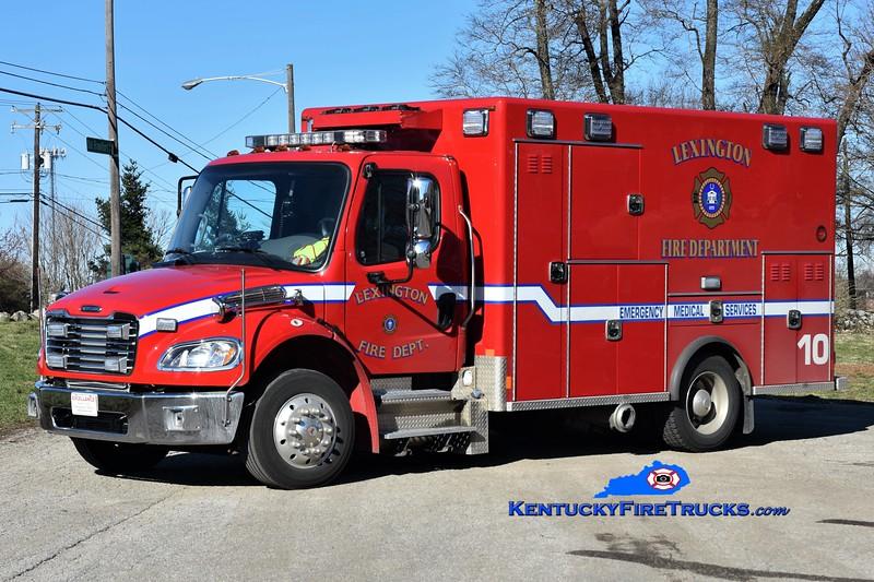 Lexington Emergency Care 10<br /> 2018 Freightliner M2-106/2014 Excellance <br /> Greg Stapleton photo