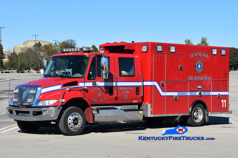 Lexington  Emergency Care 11<br /> 2014 International 4300/Excellance<br /> Greg Stapleton photo