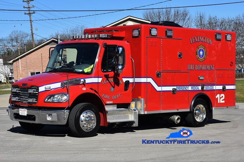 Lexington Emergency Care 12<br /> 2019 Freightliner M2-106/Excellance<br /> Greg Stapleton photo