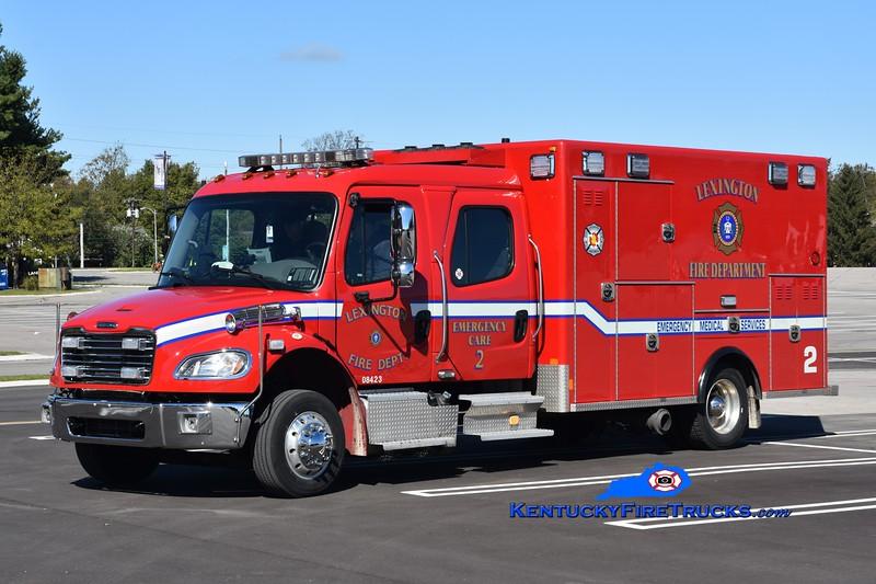 Lexington  Emergency Care 2<br /> 2017 Freightliner M2-106/Excellance<br /> Greg Stapleton photo