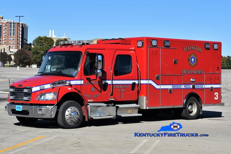 Lexington  Emergency Care 3<br /> 2018 Freightliner M2-106/Excellance<br /> Greg Stapleton photo