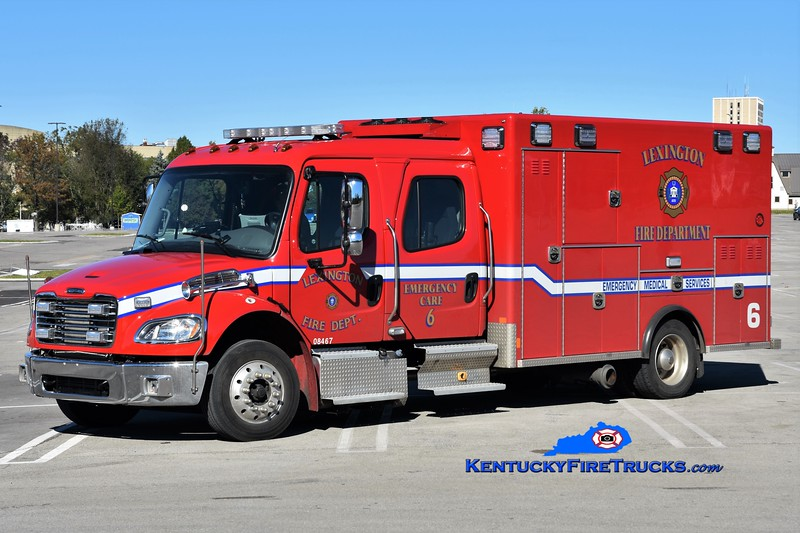 Lexington Emergency Care 6<br /> 2018 Freightliner M2-106/Excellance<br /> Greg Stapleton photo
