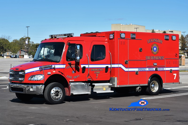 Lexington  Emergency Care 7<br /> 2017 Freightliner M2-106/Excellance<br /> Greg Stapleton photo