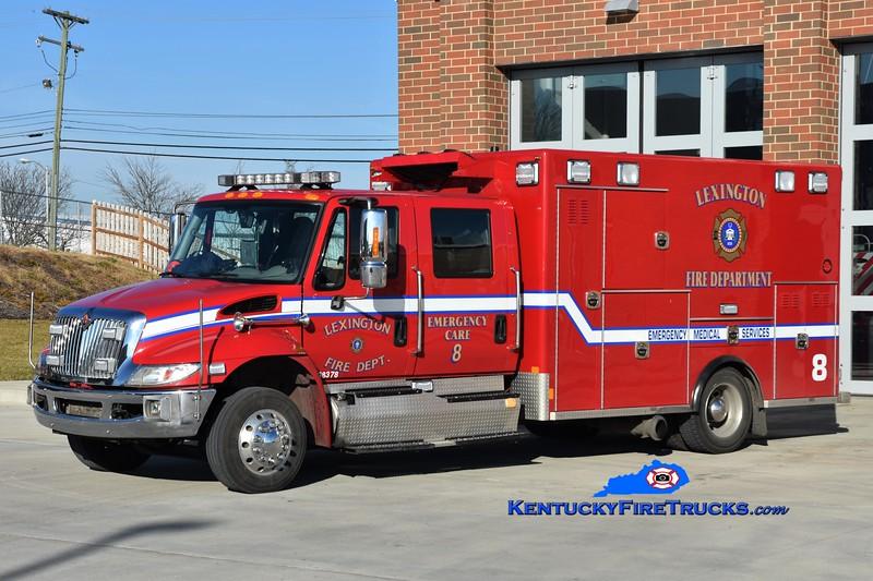 Lexington Emergency Care 8<br /> 2014 International 4300/Excellance<br /> Greg Stapleton photo