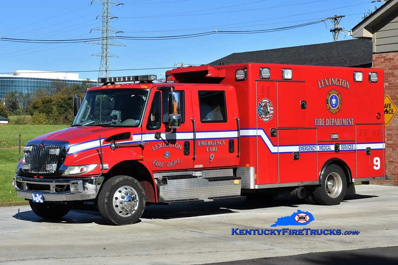 Lexington  Emergency Care 9<br /> 2014 International 4300/Excellance<br /> Greg Stapleton photo