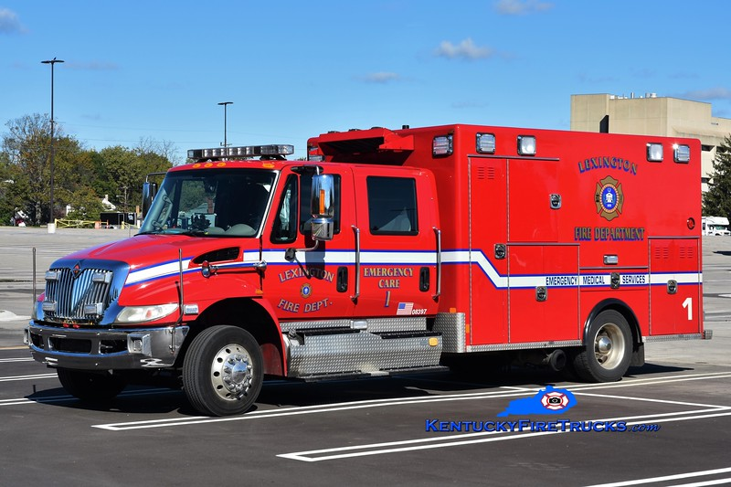 REMOUNTED ON NEW CHASSIS <br /> Lexington  Emergency Care 1<br /> 2015 International 4300/Excellance<br /> Greg Stapleton photo