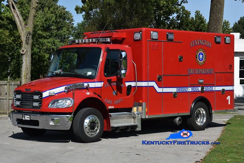 Lexington Emergency Care 1<br /> 2020 Freightliner M2-106/2015 Excellance <br /> Greg Stapleton photo