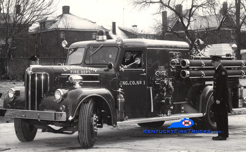<center> RETIRED <br> Lexington  Engine 1 <br> 1955 Maxim 1000/200 <br> Greg Stapleton collection </center>
