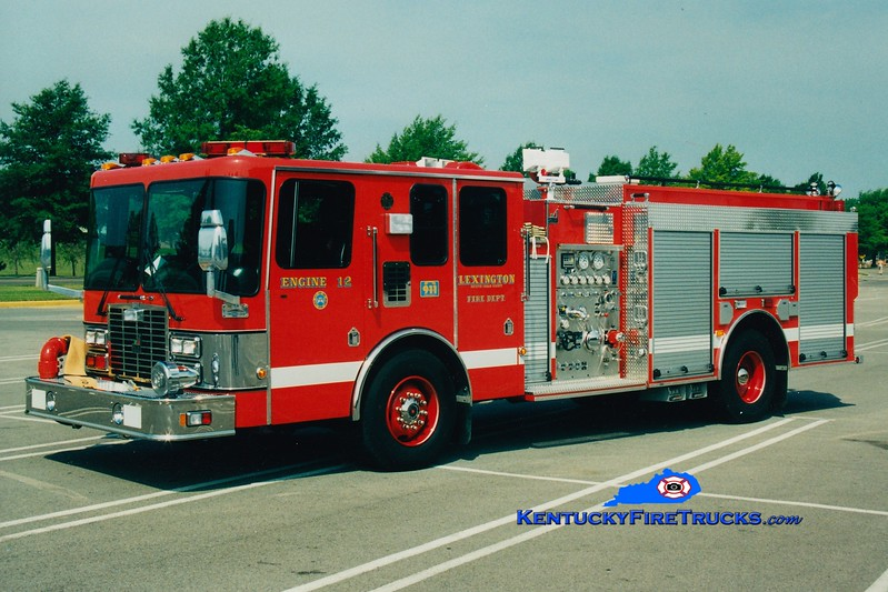 <center> *Reserve Engine 35 <br> Lexington, KY  Engine 12 <br> 1997 HME/Smeal 1250/500 <br> Greg Stapleton photo </center>