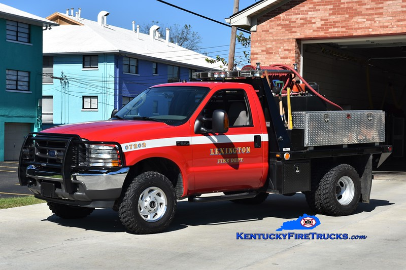 Lexington, KY Brush Truck 1 <br /> 2004 Ford F-350 4x4/UPF/LFD 250/250 <br /> Greg Stapleton photo