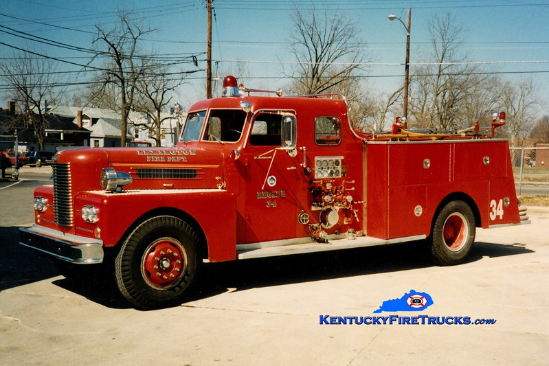 <center> RETIRED <br> Lexington, KY  Engine 14 <br> *As Reserve Engine 34 <br> 1962 Pirsch/1980 LFD 1000/200 <br> Greg Stapleton photo </center>