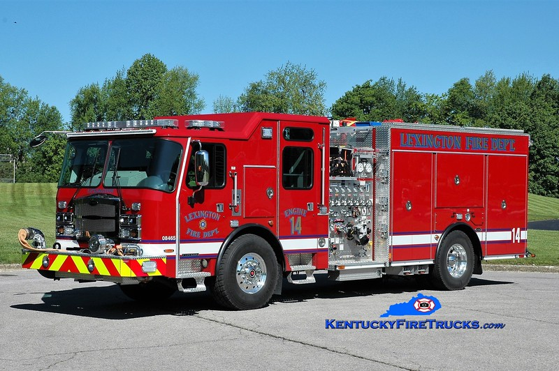 Lexington  Engine 14<br /> 2017 E-One Typhoon 1500/980/20/30<br /> Greg Stapleton photo