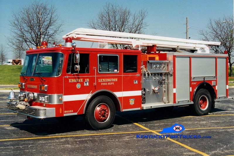 <center> RETIRED <br> Lexington  Engine 15 <br> 1992 Pierce Arrow/Summit/1979 American LaFrance 1500/500/54' Squrt <br> Greg Stapleton photo </center>