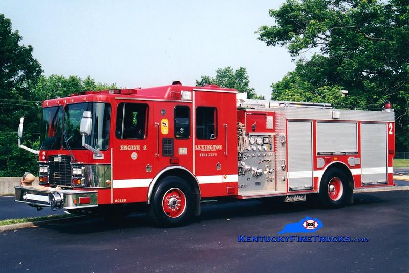 <center> *Reserve Engine 32 <br> Lexington  Engine 2 <br> 1999 HME/Smeal 1250/1000 <br> Greg Stapleton photo </center>