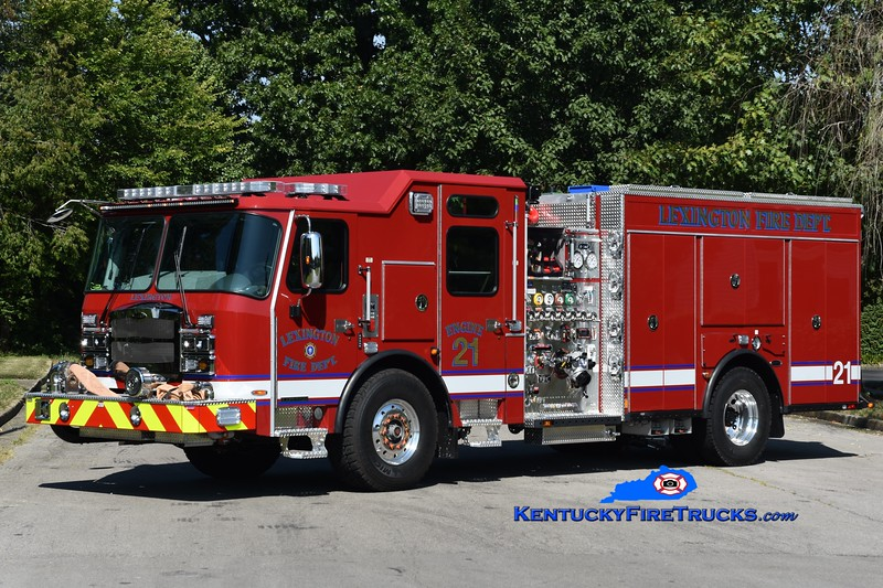 Lexington  Engine 21<br /> 2019 E-One Typhoon 1500/1000/50<br /> Greg Stapleton photo