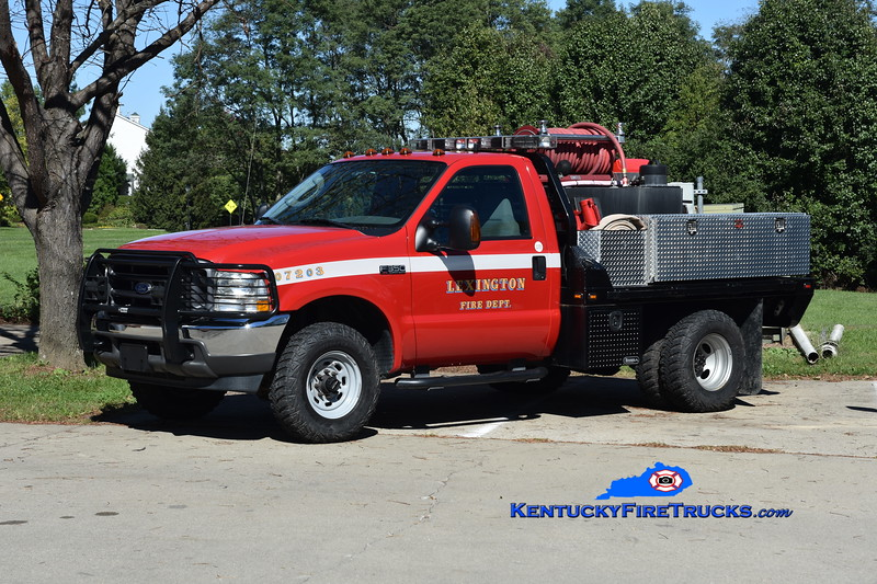 Lexington Brush Truck 2 <br /> 2004 Ford F-350 4x4/UPF/LFD 250/250 <br /> Greg Stapleton photo