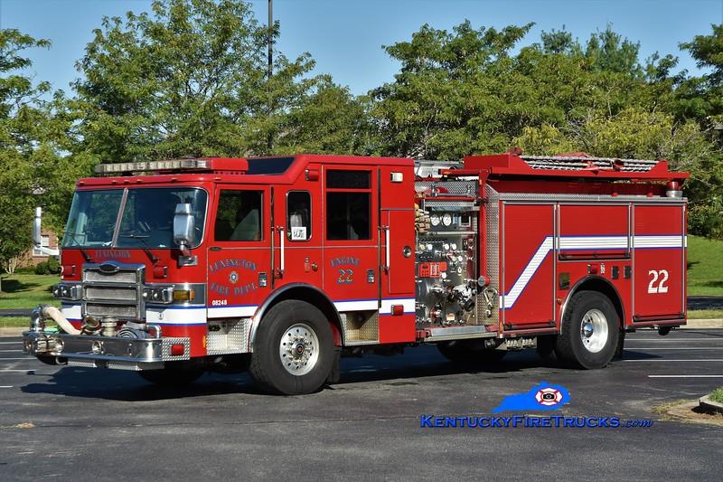 Lexington Engine 22<br /> 2006 Pierce Dash 1500/1000/50<br /> Greg Stapleton photo
