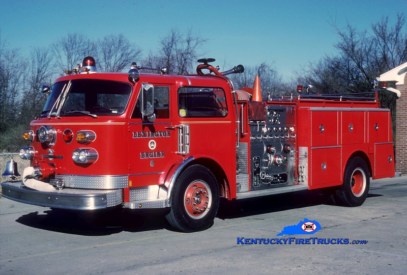 <center> RETIRED <br> Lexington, KY  Engine 8 <br> 1979 American LaFrance  1250/1000 <br> Greg Stapleton collection </center>
