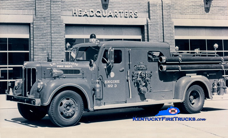<center> RETIRED <br> Lexington  Engine 3 <br> *Also served as Engine 1 <br> 1955 Maxim 1000/200 <br> Greg Stapleton collection </center>