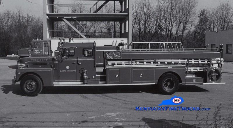 <center> RETIRED <br> Lexington  Hook & Ladder 4 <br> 1968 Pirsch City Service Truck <br> Greg Stapleton collection </center>