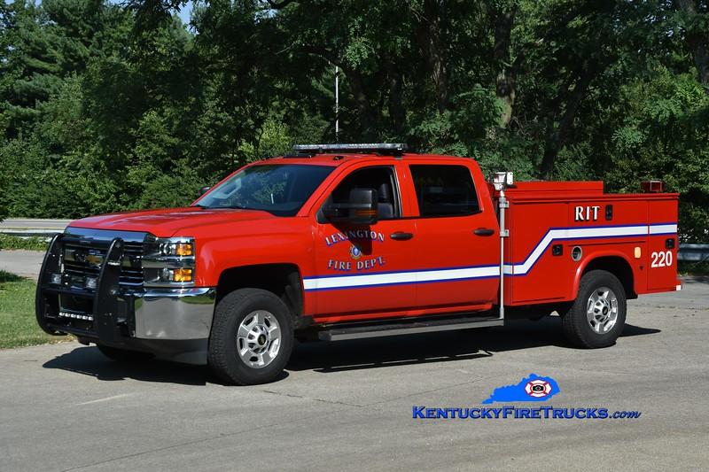 Lexington Car 220<br /> 2015 Chevy 2500 4x4/Knapheide/Meyer Truck Equip<br /> Greg Stapleton photo