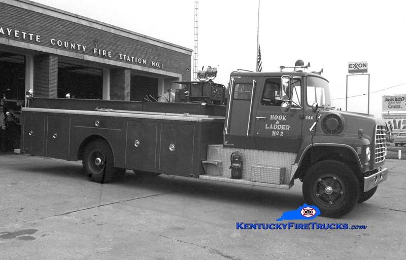 <center> RETIRED <br> Lexington  Hook & Ladder 1 <br> 1973 Ford/LFD City Service Truck <br> Greg Stapleton collection </center>