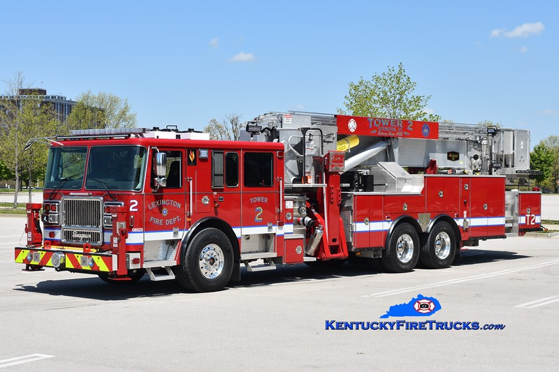 Lexington Tower 2<br /> 2019 Seagrave Capitol 95' Aerialscope<br /> Greg Stapleton photo