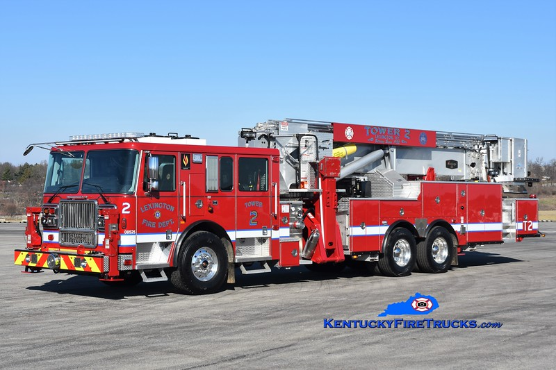 Lexington Tower 2<br /> 2019 Seagrave Capital 95' Aerialscope<br /> Greg Stapleton photo