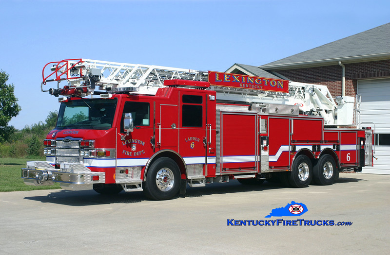 Lexington  Ladder 6<br /> 2009 Pierce Velocity 1500/200/105'<br /> Kent Parrish