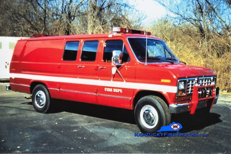 RETIRED <br /> Lexington Unit 739<br /> 1990 Ford<br /> Dave Mattingly photo