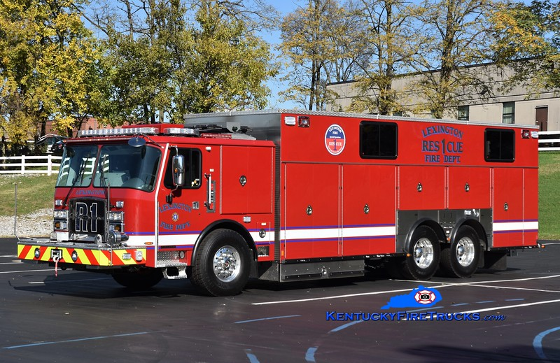 Lexington  Rescue 1<br /> 2017 E-One Cyclone II<br /> Greg Stapleton photo