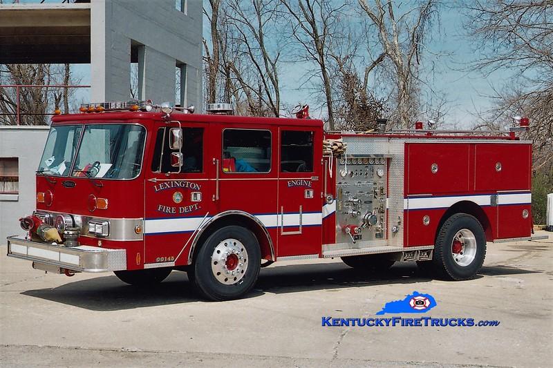 RETIRED<br /> Lexington Reserve Engine 38<br /> x-Engine 5<br /> 1986 Pierce Arrow 1250/500<br /> Greg Stapleton photo