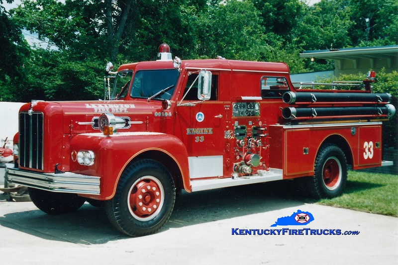 RETIRED<br /> Lexington Reserve Engine 33<br /> x-Engine 10<br /> 1965 Maxim 1000/200<br /> Greg Stapleton photo