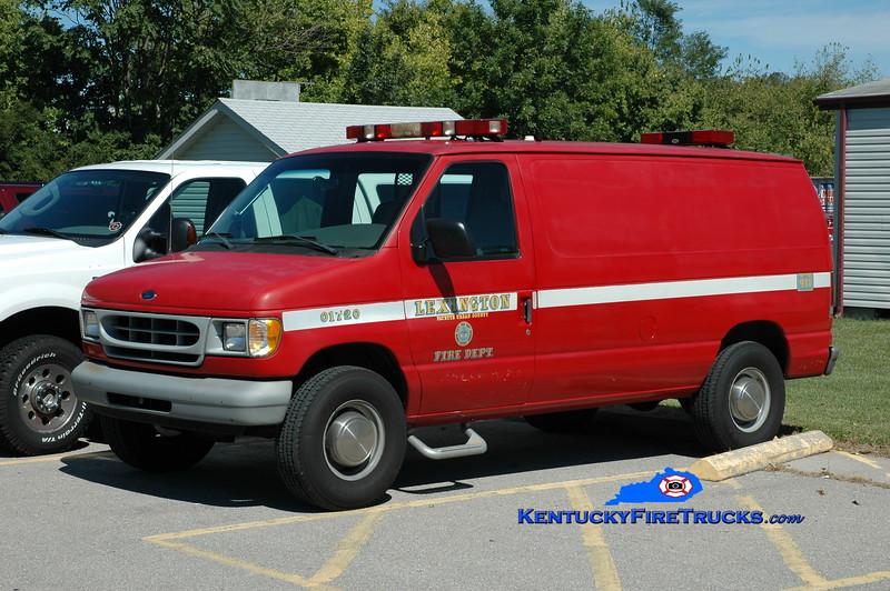 RETIRED<br /> Lexington Mobile Air 2<br /> 1998 Ford E-350<br /> Greg Stapleton photo
