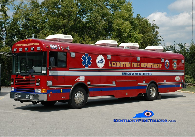 Lexington MAB 1<br /> 2010 International/Sartin Mobile Ambulance Bus<br /> Greg Stapleton photo
