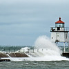 Two Harbors Breakwater light was built in 1906.