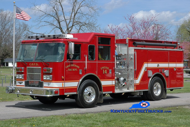 Crab Orchard  Engine 14<br /> 2006 Pierce Contender 1250/1000<br /> Greg Stapleton photo