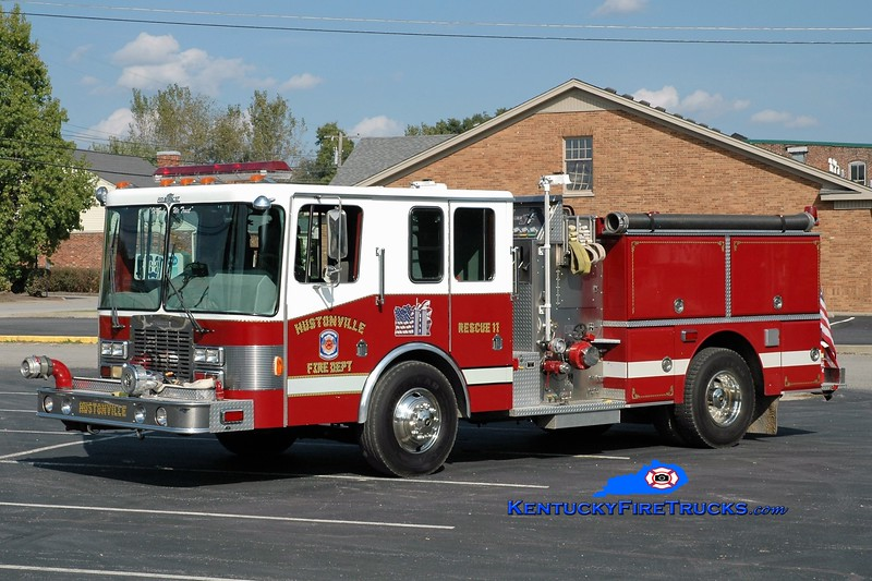Hustonville  Rescue 11<br /> x-Indianapolis, IN; x-Stanford, KY<br /> 1990 Grumman Panther II 1250/500<br /> Greg Stapleton photo
