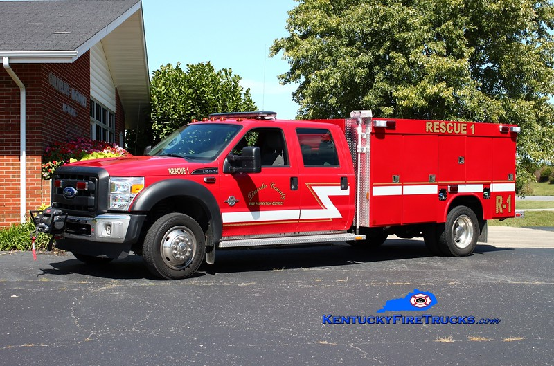 <center> REASSIGNED <br> Lincoln County Rescue 1  <br> 2011 Ford F-550 4x4/Wynn  <br> Kent Parrish photo <br> </center>