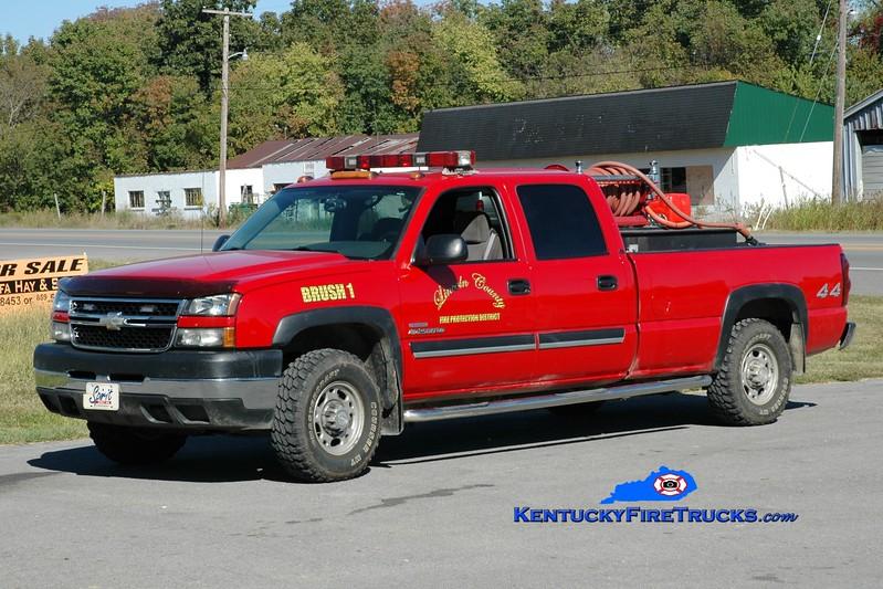<center> Lincoln County Brush 1  <br> 2006 Chevy 2500 4x4/CET 250/250 <br> Greg Stapleton photo <br> </center>