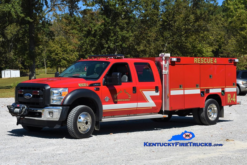 Lincoln County  Rescue 4<br /> x-Rescue 1<br /> 2011 Ford F-550 4x4/Wynn <br /> Greg Stapleton photo