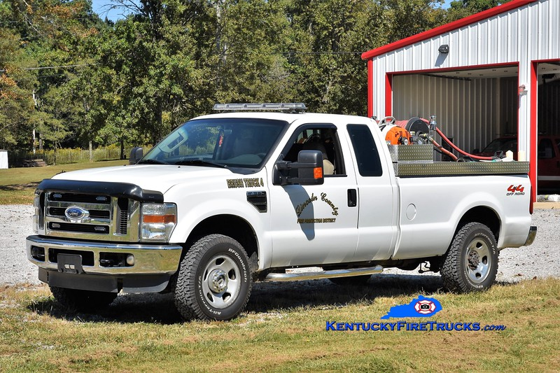 Lincoln  County Brush 4<br /> 2007 Ford F-350 4x4/LCFD 250/200<br /> Greg Stapleton photo