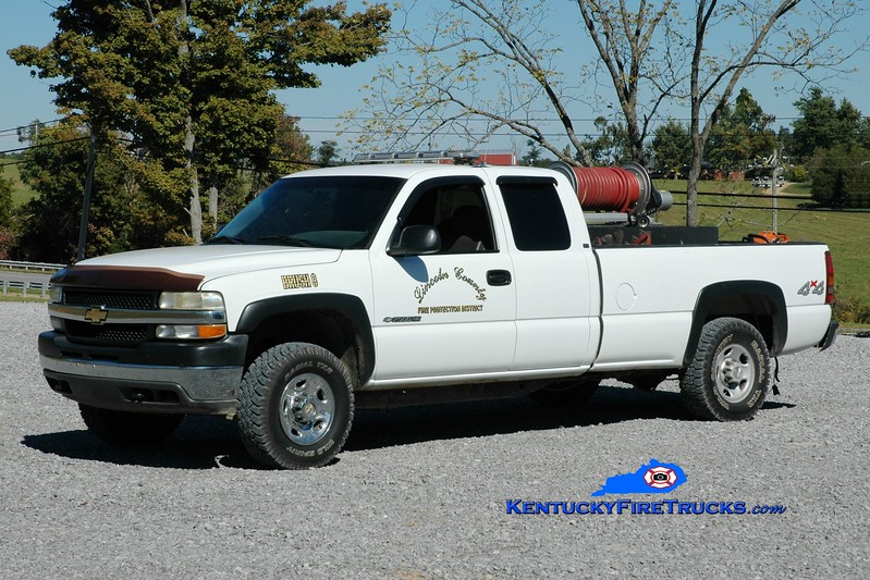 <center> Lincoln County Brush 8  <br> 2001 Chevy 3500 4x4/Dura-Poly 250/250 <br> Greg Stapleton photo </center>