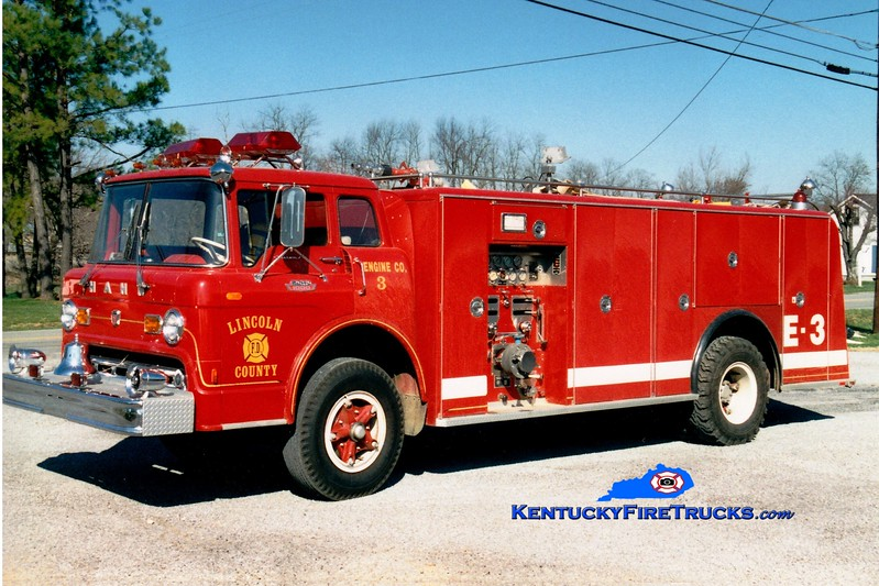 <center> RETIRED <br> Lincoln County Engine 3  <br> x-Birdsboro, PA; <br> 1968 Ford C-1000/Hahn 1000/1000 <br> Greg Stapleton photo <br> </center>