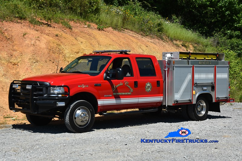 Lincoln County Rescue 5<br /> 2003 Ford F-350 4x4/Neep<br /> Greg Stapleton photo
