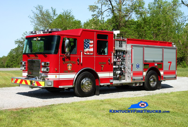 Stanford  Engine 7<br /> 2014 Pierce Saber 1500/750/30<br /> Kent Parrish photo